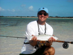Bonefishing the lakes and flats of the Turks and Caicos Islands
