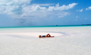 Taylor Bay one of the beaches of Providenciales Turks and Caicos Islands