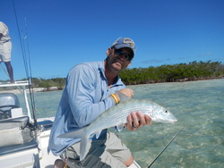 Bonefishing the fishing flats of Providenciales Turks and Caicos Islands