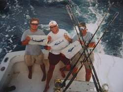 deep sea fishing for marlin