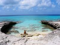 Secluded beach, secret location, Providenciales
