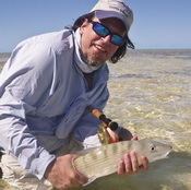 American Angler bonefishing article on fishing the flats of the Turks and Caicos