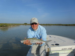 Turks and Caicos bonefishing on the flats of the Turks and Caicos Islands